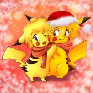 Pika_Christmas_X3_by_sunshineikimaru