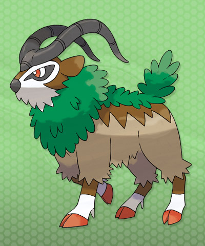 Gogoat-Pokemon-X-and-Y | pokéjungle.net | Latest Pokémon ...