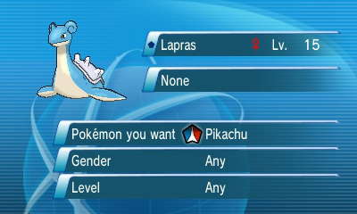 Global trading system pokemon x