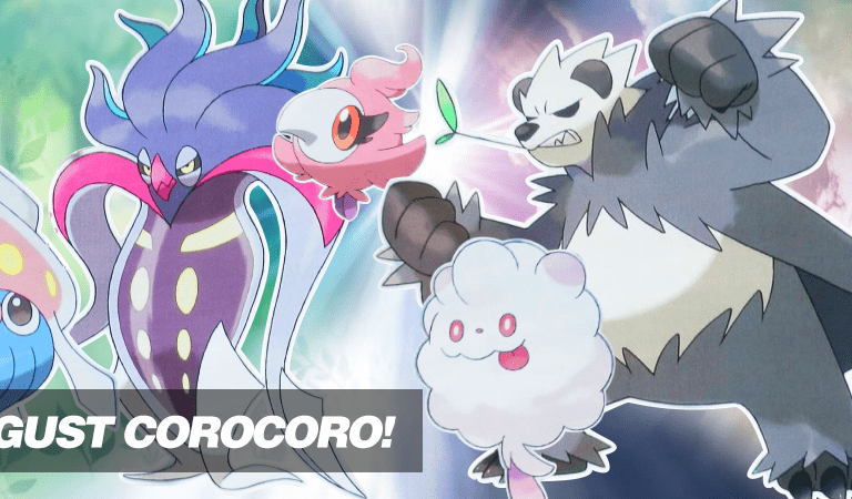 August Corocoro Leaking — New Pokémon, Characters and More!