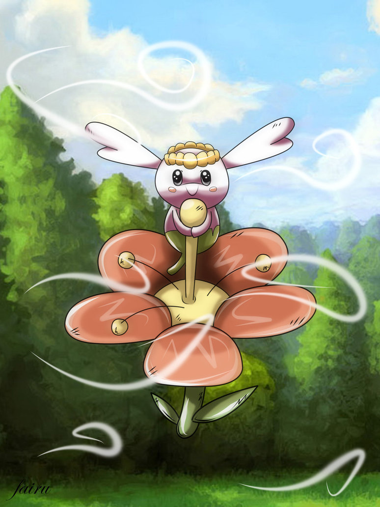 flabebe pokemon shiny - HD 774×1032
