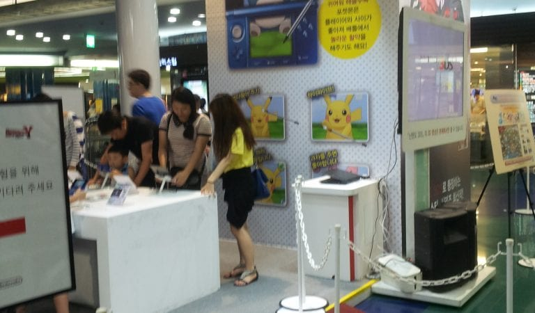 Pokemon XY Demo in Seoul, Korea