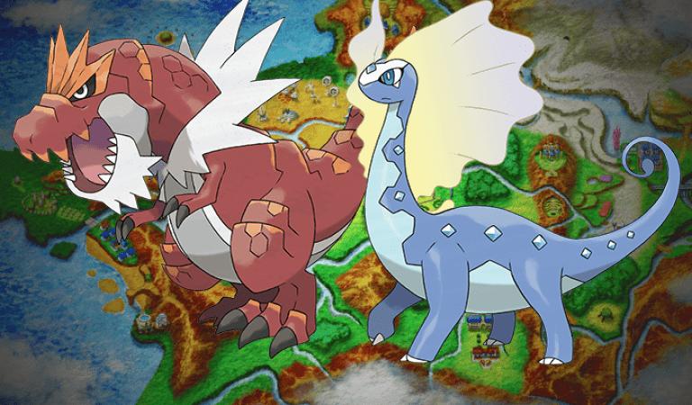 Meet Amaura's and Tyrunt's Evolutions Aurorus & Tyrantrum! [UPD1]