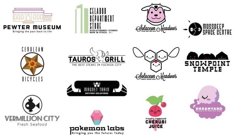 Amazing Pokémon Logos Created by Fan
