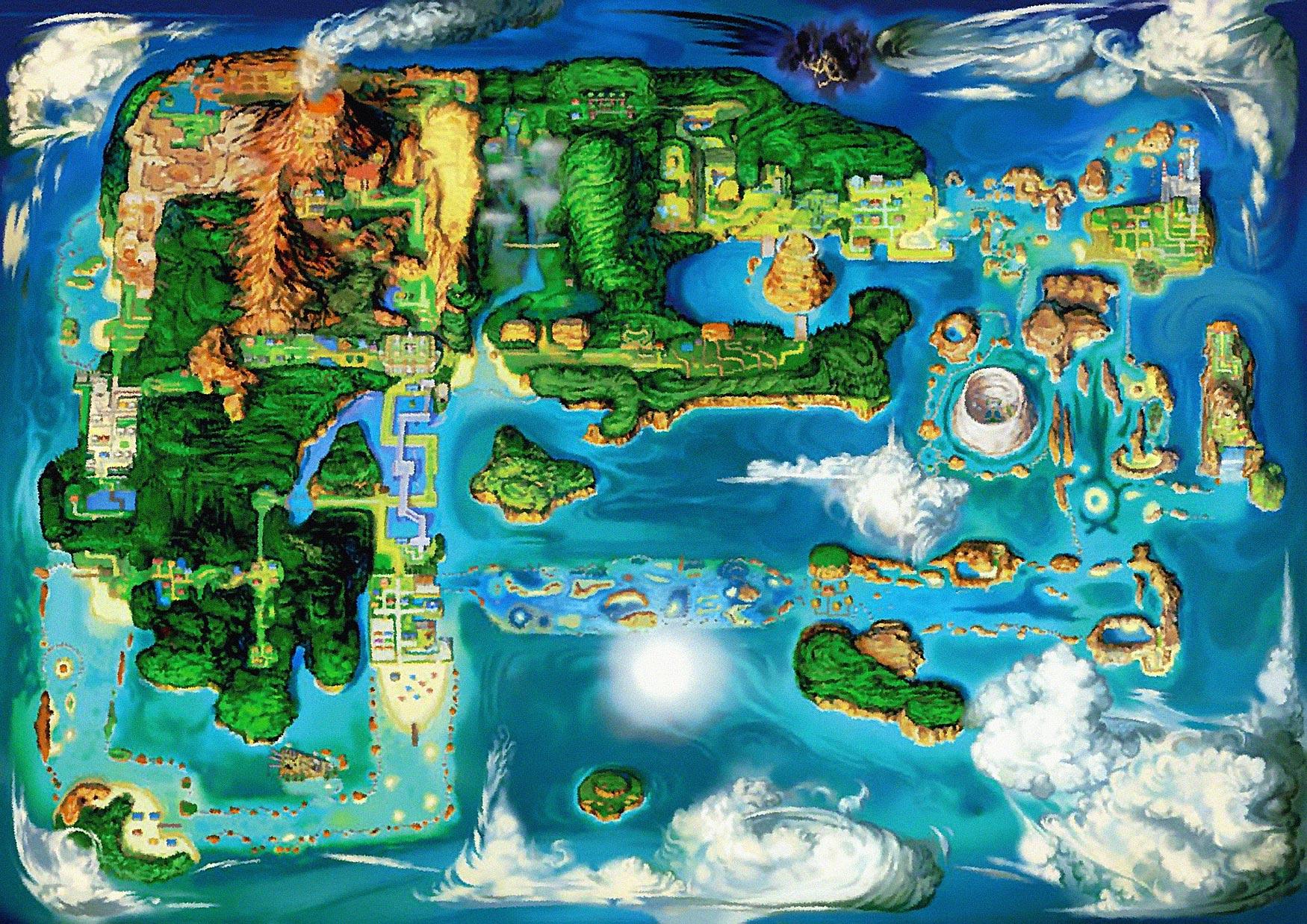 Pokemon Hoenn Map Minecraft Images Pokemon Images