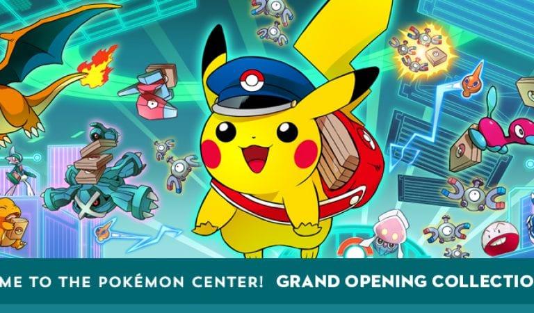 Pokémon Center Online Store Opens!