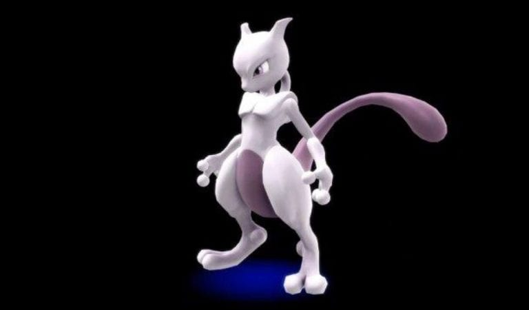Mewtwo Strikes Back in Super Smash Bros.