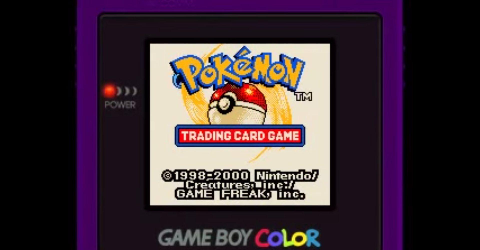 pokemon trading card game gameboy guide