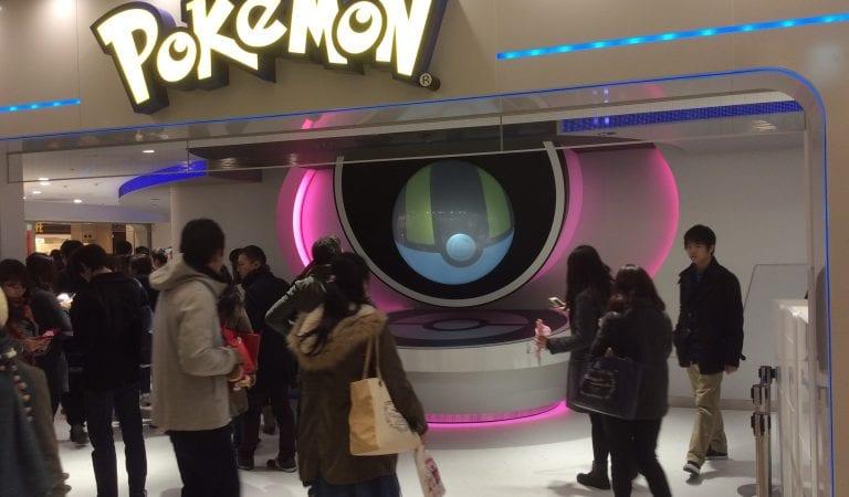 Quick Walk Around Tokyo's New Mega Pokémon Center