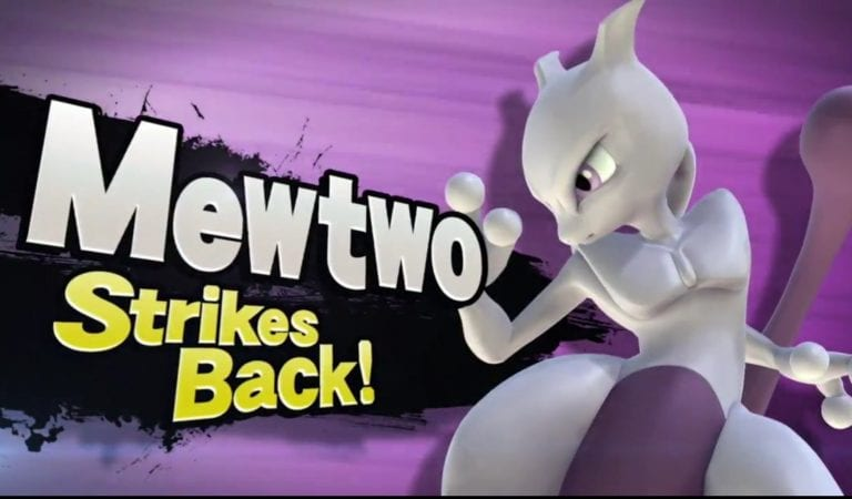 Mewtwo, The Legend, Reawakens in Super Smash Bros. for Nintendo 3DS/Wii U now as purchasable DLC!