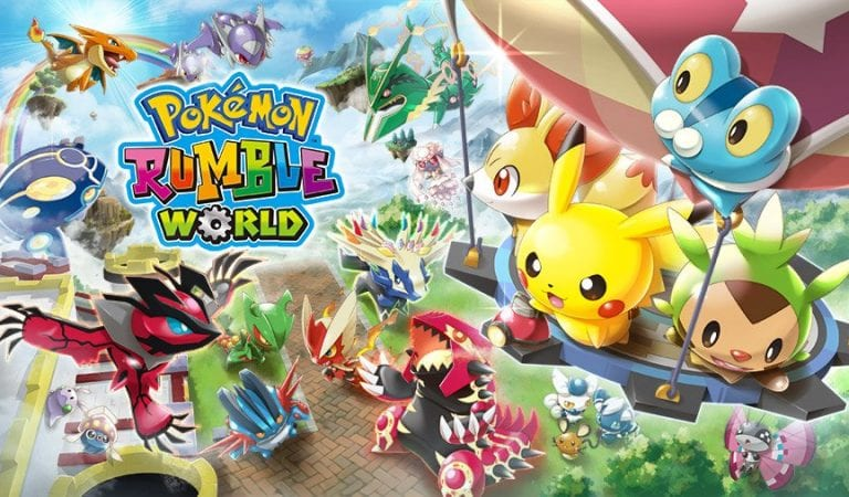 Pokémon Rumble World Now Out