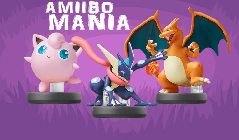 Greninja, Charizard & Jigglypuff Amiibos Available!