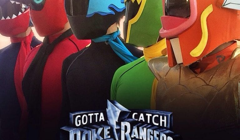 What would Pokémon Power Rangers look like? Intrepid cosplayers show us