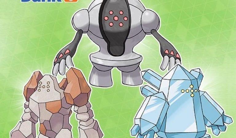 Hidden Abilitiy Regi's Coming via Pokémon Bank