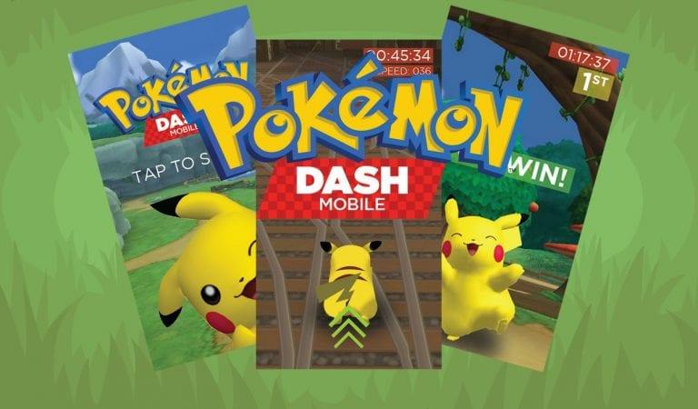 APRIL FOOLS: There is no Pokémon Dash Mobile