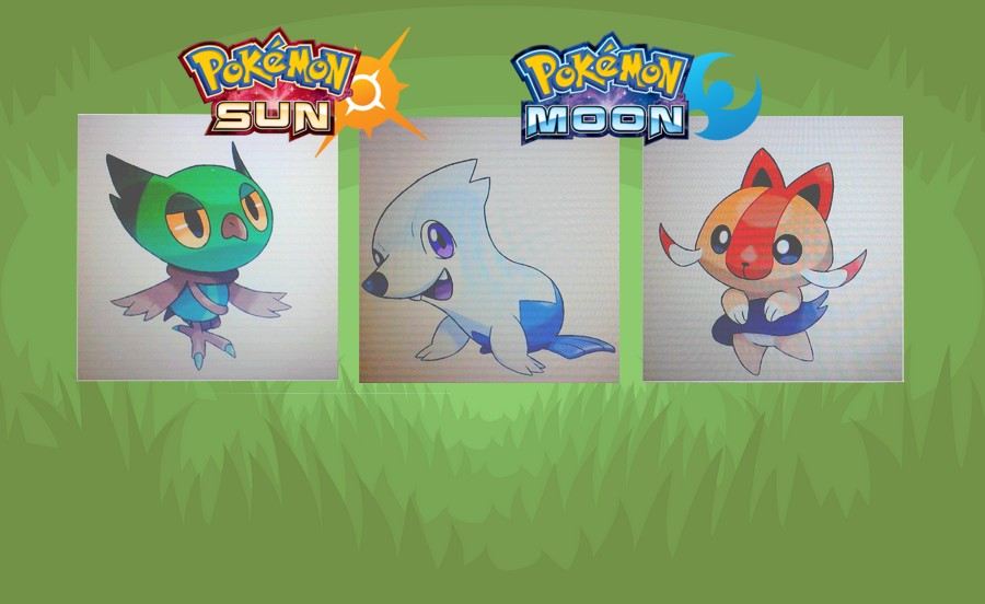 more fake sun moon starters more to speculate about pokéjungle net