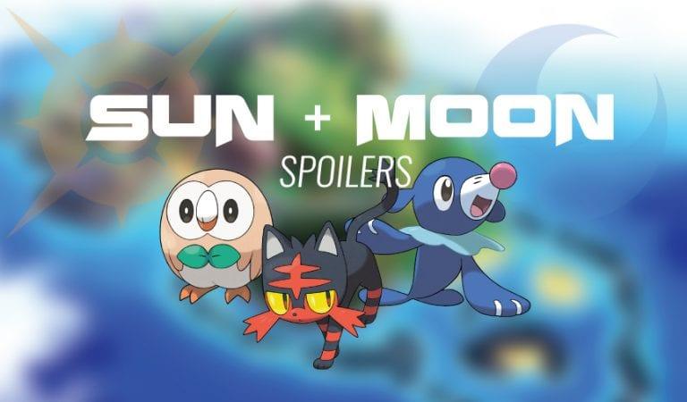 Pokémon Sun & Moon Essentials Guide – Part 1