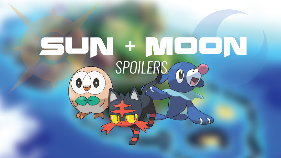 pokemon sun moon starter ful evolutions