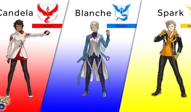 Pokémon Go Team Leaders & More Revealed at SDCC!