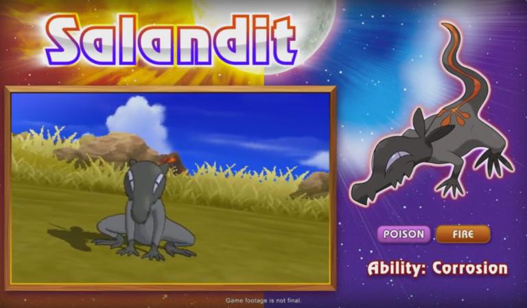 Masuda Announces New Pokémon at Japan Expo: Salandit!