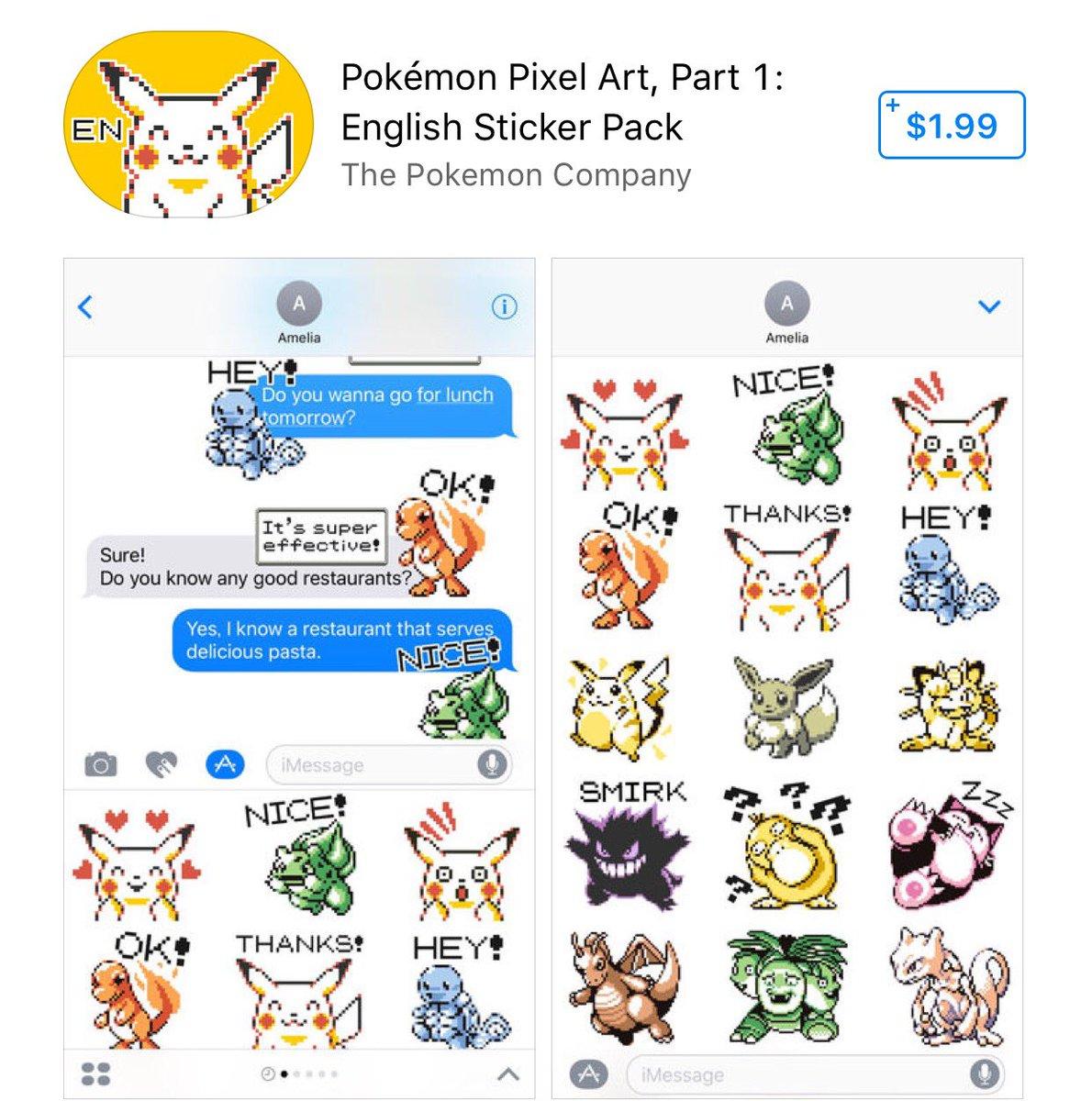 pokémon sticker pack comes to ios! | pokéjungle | latest