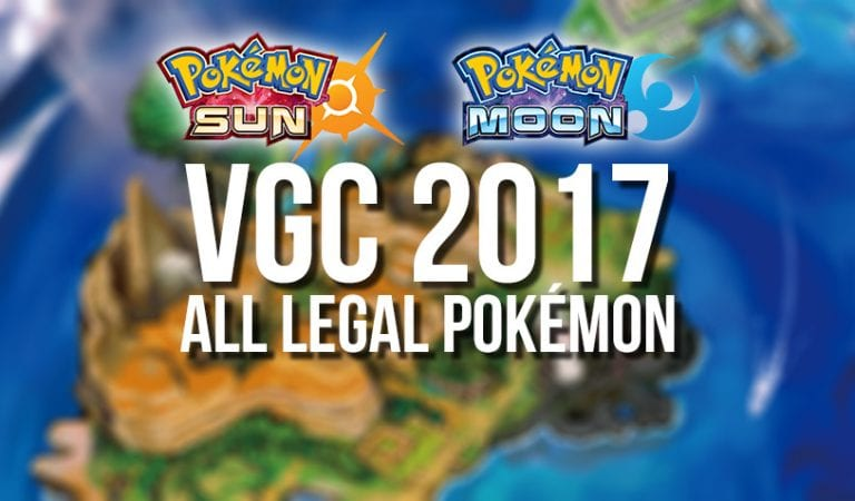 Datamine Reveals Legal Pokémon for VGC 2016/2017