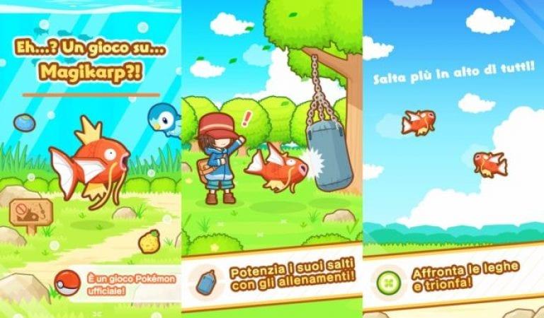 Magikarp Jump iOS Release + Sun & Moon Update