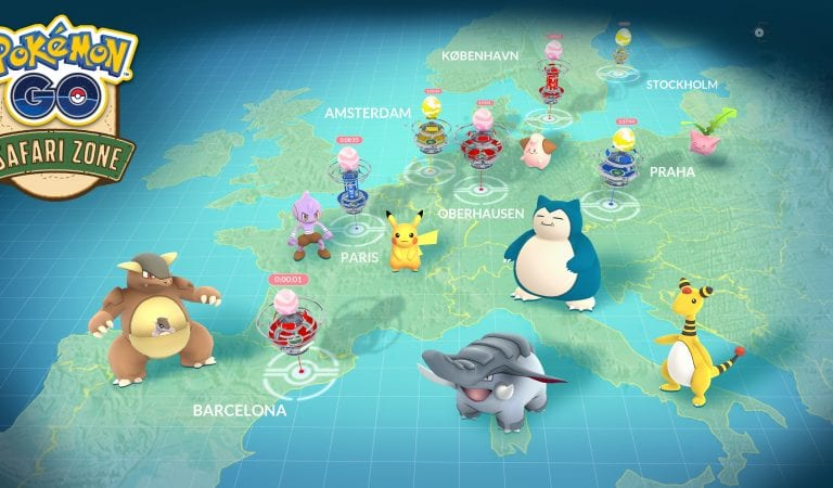 European Safari Zone Events Postponed