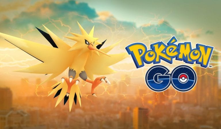 Zapdos Now Available in Pokémon GO!