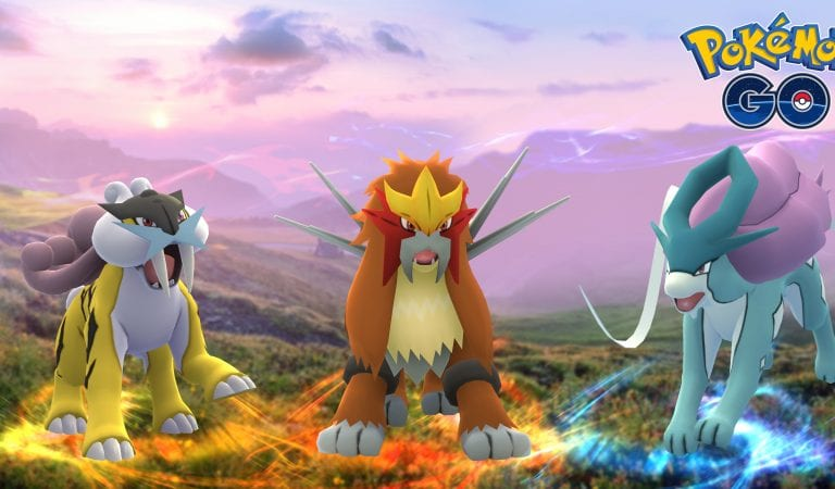Raikou, Entei & Suicune Coming to Pokémon GO
