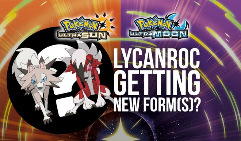 Lycanroc Hinted to be Getting New Form(s)