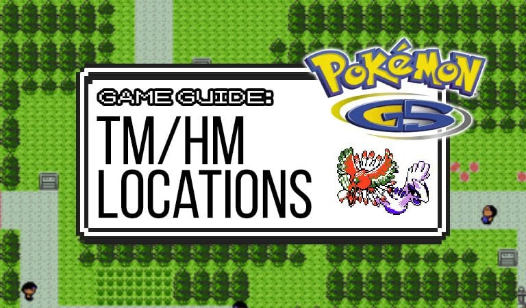 Gold & Silver Guide: TM/HM Locations
