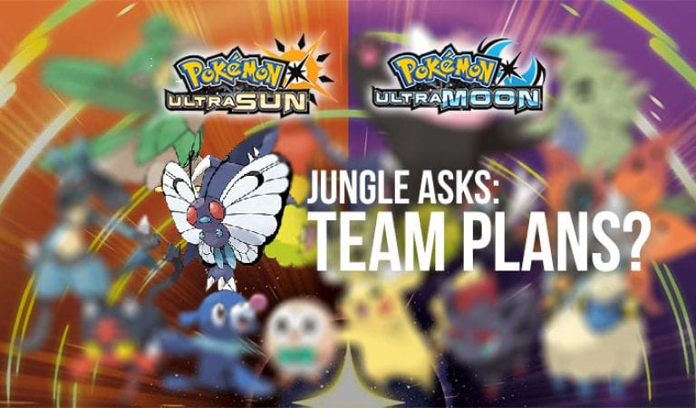 Jungle Asks: Have you chosen your Ultra Sun or Ultra Moon team?