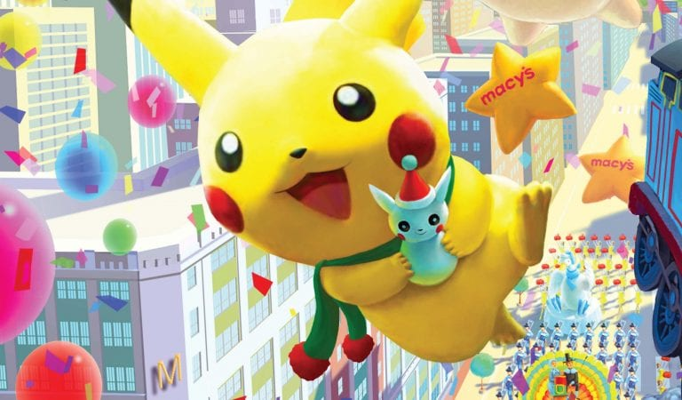 Through the Years: Pikachu & the Macy's Thanksgiving Day Parade