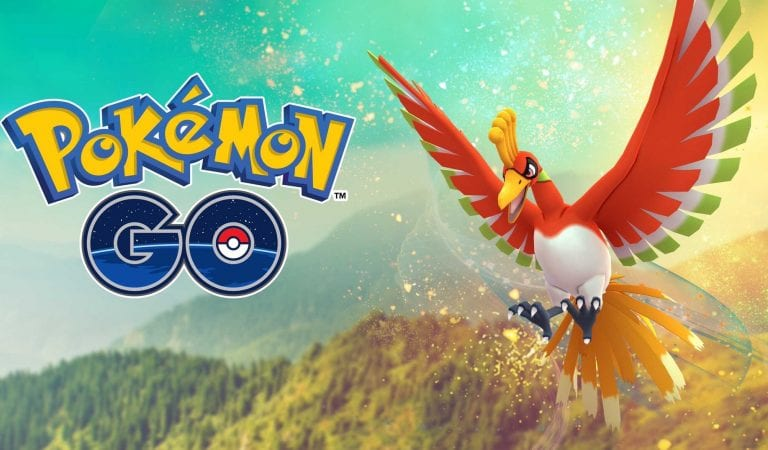 Ho-Oh Now Available in Pokémon GO!