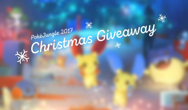 PokéJungle Christmas 2017 Giveaway