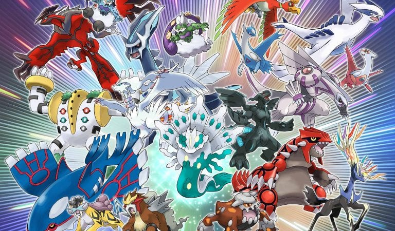 TPCi Announces Year of Legendary Pokémon