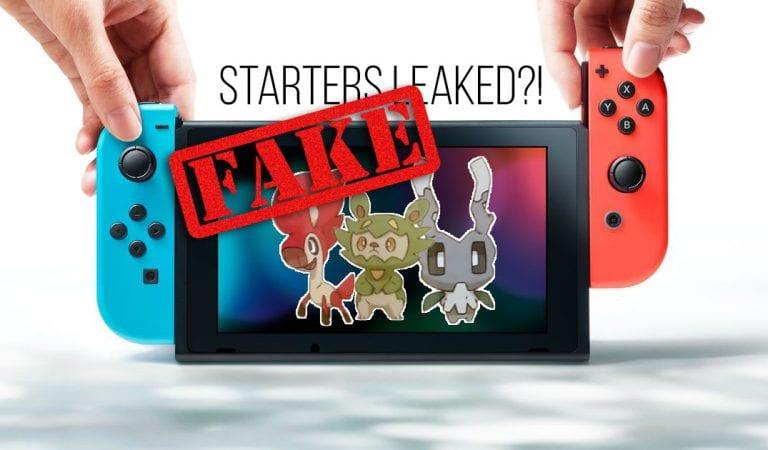 FAKE: Generation VIII Starter Pokémon Revealed?!