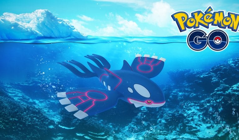 Pokémon GO Community Day, Kyogre Now Available