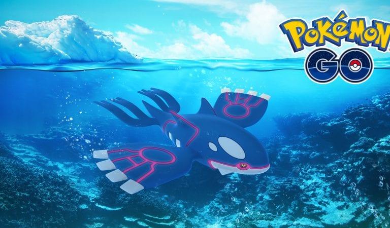 Pokémon GO Community Day, Kyogre Now Available