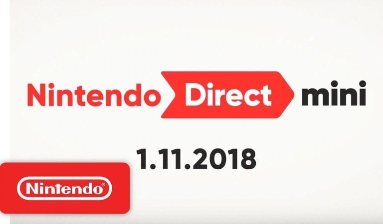 Nintendo Direct Mini Coverage // 1.11.18