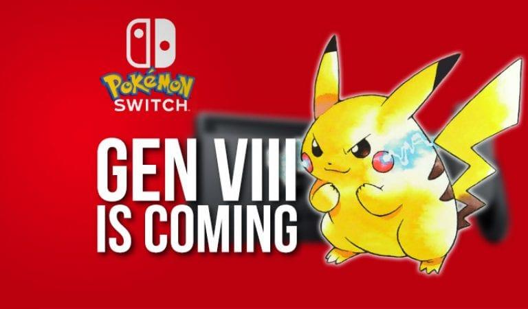 Official Nintendo Magazine Says Pokémon's 8th Generation Coming 2018