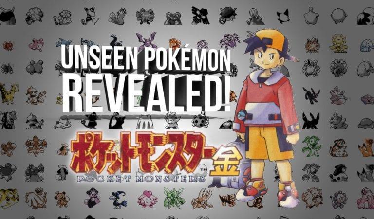 Pokémon Gold Beta Reveals Scrapped Evolutions, Pre-Evolutions of Beloved Pokémon
