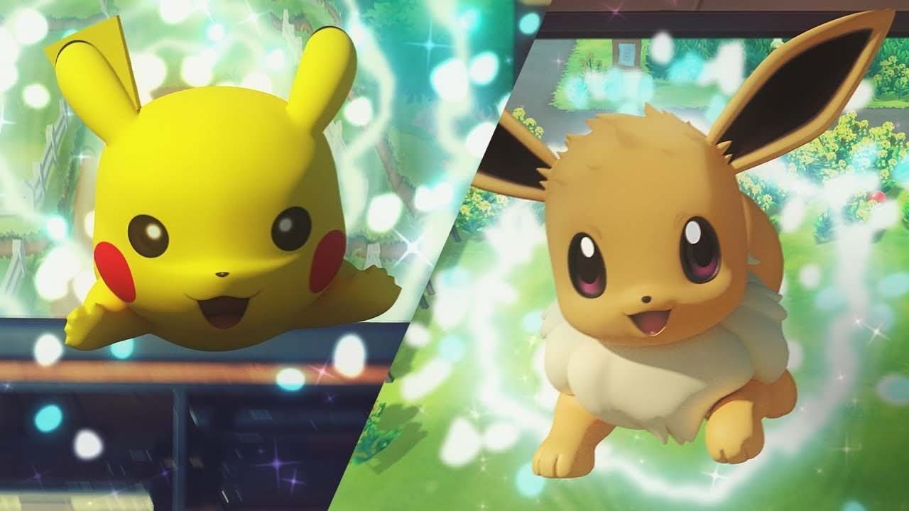 Demo for Let's Go! Pikachu & Eevee Added to eShop