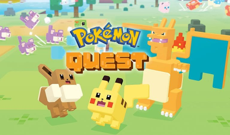 Pokémon Quest Launches for Mobile