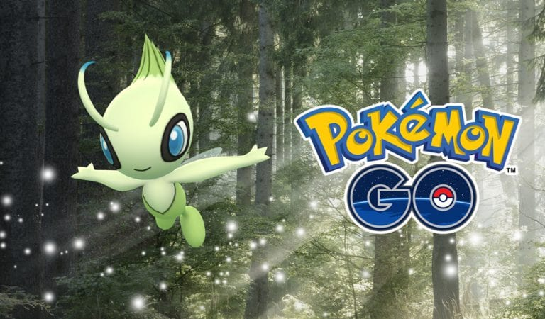 Celebi Comes to Pokémon GO August 20th
