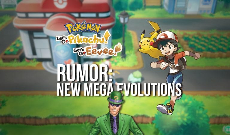 RUMOR: Let's Go! to Add New Mega Evolutions
