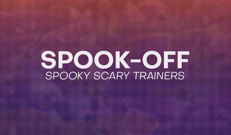 Spook-Off: Spooky Scary… Trainers