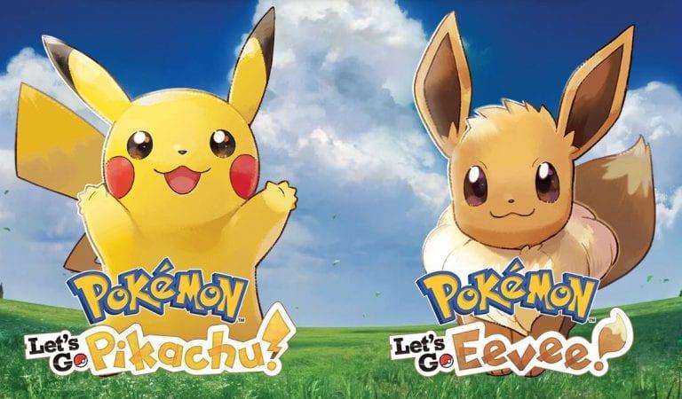 Pokémon Let's Go! Pikachu & Eevee OUT NOW!