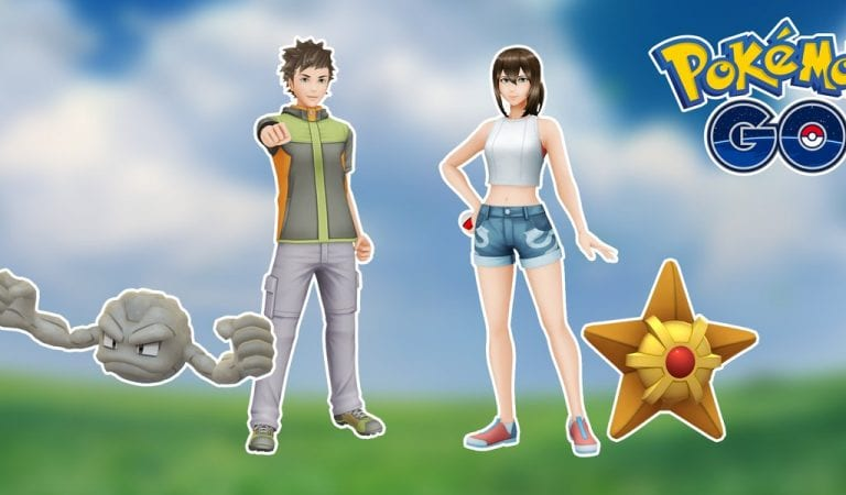 Pokémon GO Adds Brock and Misty Inspired Styles